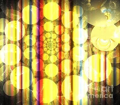 Gold Sunshine Spiral by Kim Sy Ok