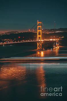 Golde Gate Bridge by Art K