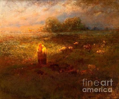 Peter Gumaer Ogden - Golden Afternoon 1920