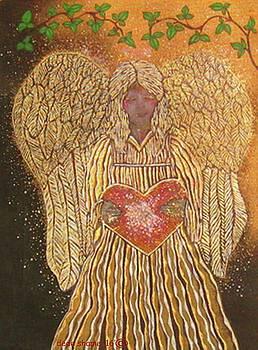 Golden Angel by Dede Shamel Davalos