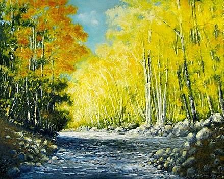 Golden Autumn by Boris Garibyan