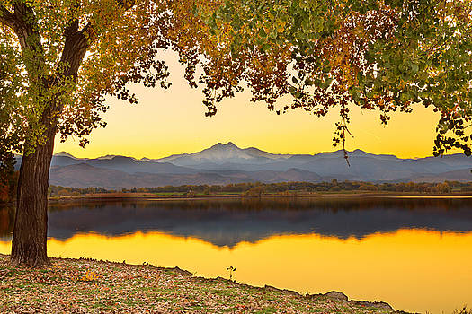James BO  Insogna - Golden Autumn Twin Peaks View