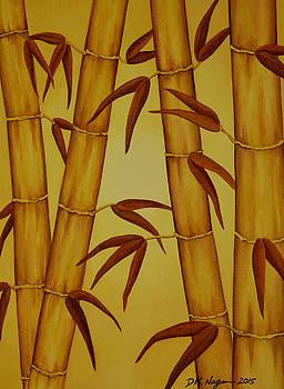 Golden Bamboo by DK Nagano