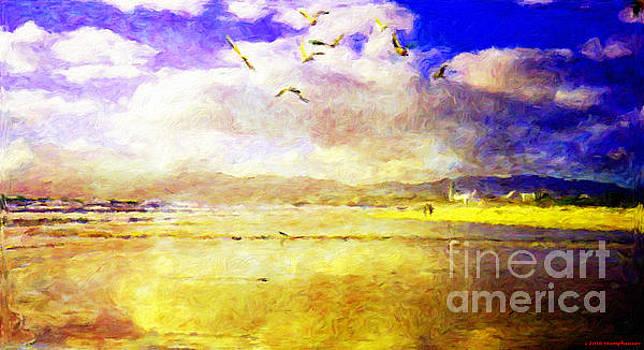 Golden Beach by Jerome Stumphauzer