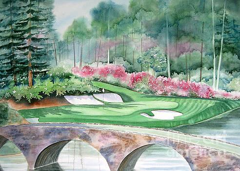 Golden Bell-12th hole by Deborah Ronglien