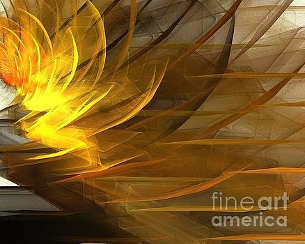 Golden Blossom by Kim Sy Ok