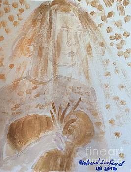 Golden Bride three by Richard W Linford