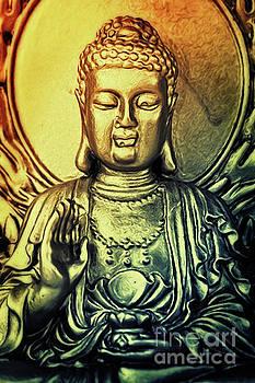 Angela Doelling AD DESIGN Photo and PhotoArt - Golden Buddha