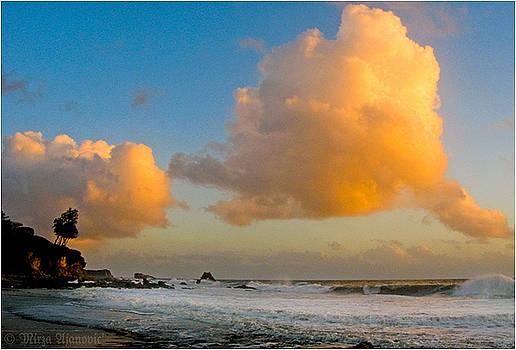 Golden Clouds  AT CORONA by Mirza Ajanovic