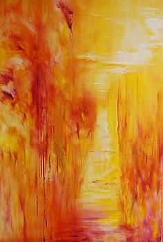 Golden Corridor by Larry Ney  II