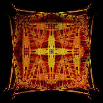 Golden Cross by Gillian Owen