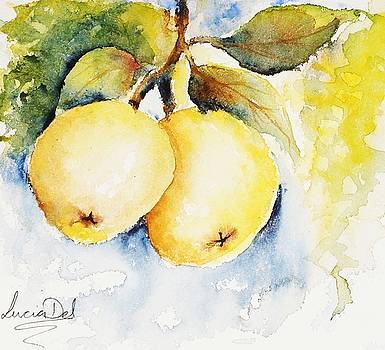 Golden Delicious by Lucia Del
