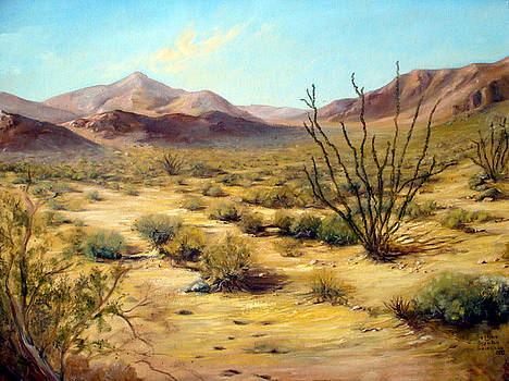 Golden Desert by Evelyne Boynton Grierson