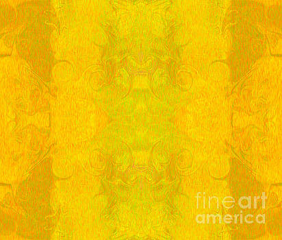 Omaste Witkowski - Golden Dreaming Abstract Inspirational Words Artwork by Omaste W