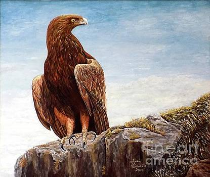Golden Eagle by Judy Kirouac