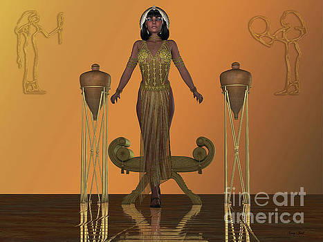 Golden Egyptian Princess by Corey Ford