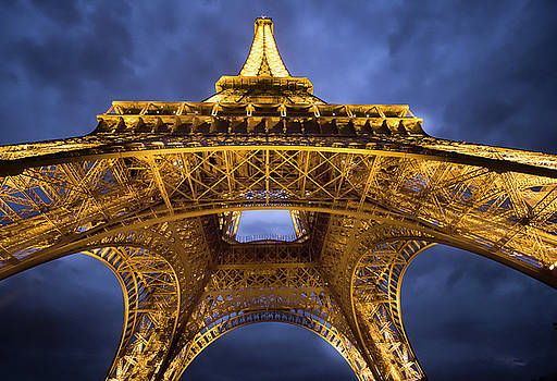 Golden Eiffel by Craig Sanders