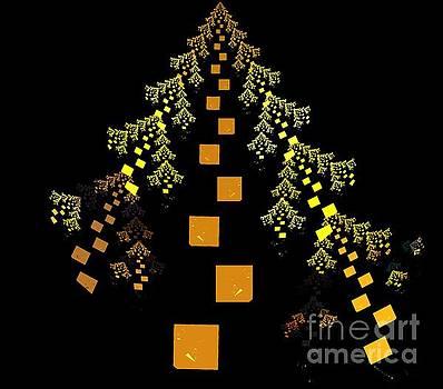 Golden Fir Tree by Kim Sy Ok