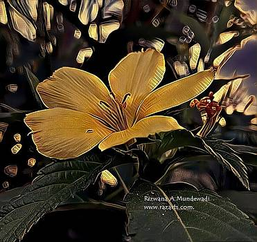 Rizwana Mundewadi - Golden Flower