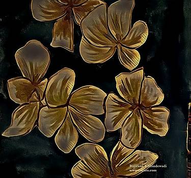 Rizwana Mundewadi - Golden Flowers of Joy