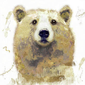 Golden Forest Bear by Mindy Sommers
