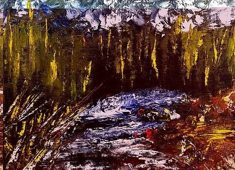 Golden Forest by Sallie Wysocki