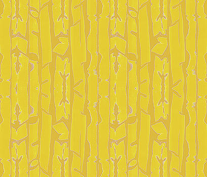 Golden Fronds by Vagabond Folk Art - Virginia Vivier