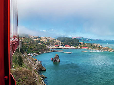 Golden Gate Bridge and Ft Baker by Bill Gallagher