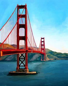 Golden Gate Bridge by Ata Alishahi