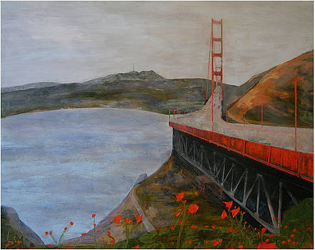 Golden Gate Bridge by Ellen Beauregard
