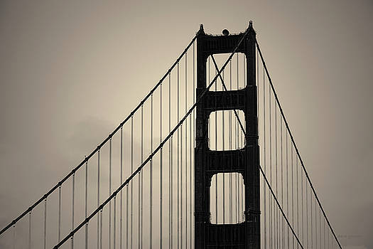 Golden Gate Bridge I Toned by David Gordon