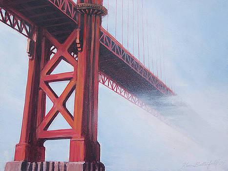 Golden Gate Bridge by Kean Butterfield
