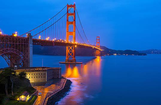 Golden Gate Bridge by Kobby Dagan