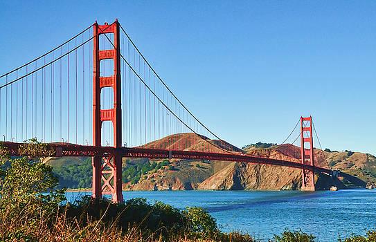 Golden Gate Bridge by Lorrie Morrison