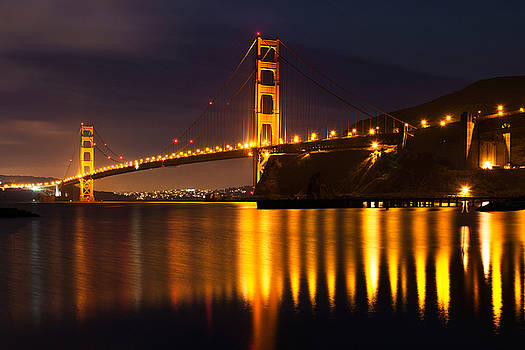 Golden Gate Bridge by Mary Pat Collins