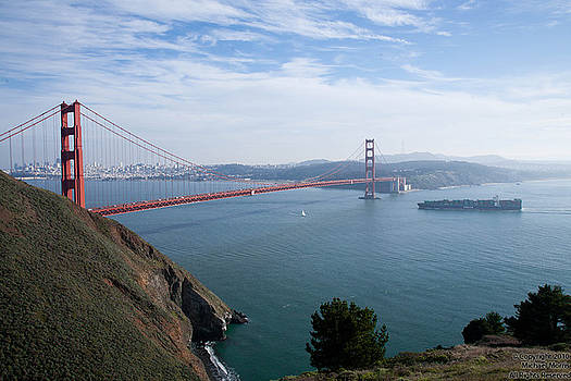 Golden Gate Bridge by Michael Morris