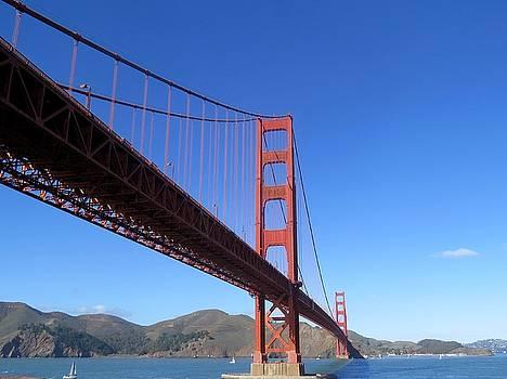 Golden Gate Bridge by Phil Bearce