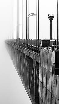 Golden Gate Bridge Portrait  by Bill Gallagher