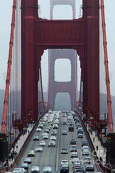 Golden Gate Bridge, San Francisco by Andy Myatt
