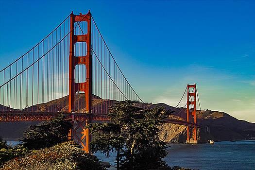 Kimberly Blom-Roemer - Golden Gate Bridge San Francisco California