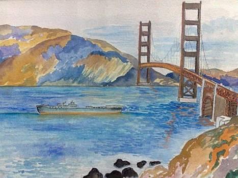 Golden Gate Bridge by Sarah Khalid Khan