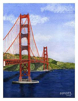 Golden Gate Bridge by Sharon Gerber