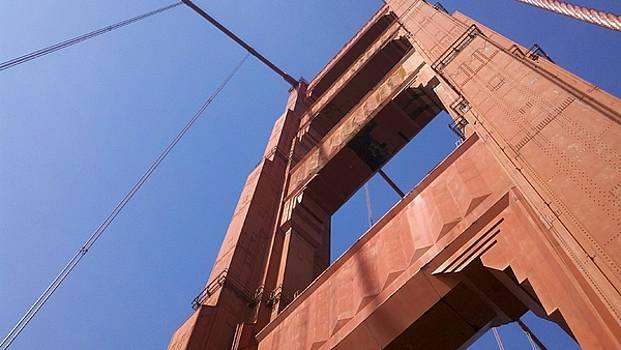 Golden Gate Bridge Span by Kim Blumenstein