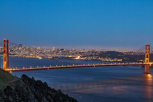 Bruce Bottomley - Golden Gate Early Evening