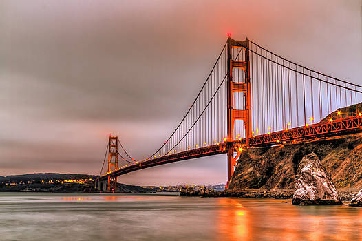 Golden Gate Early Morning by Bruce Bottomley