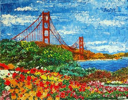 Golden Gate Garden by Hema Sukumar