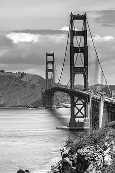 Cliff Wassmann - Golden Gate in Black and White