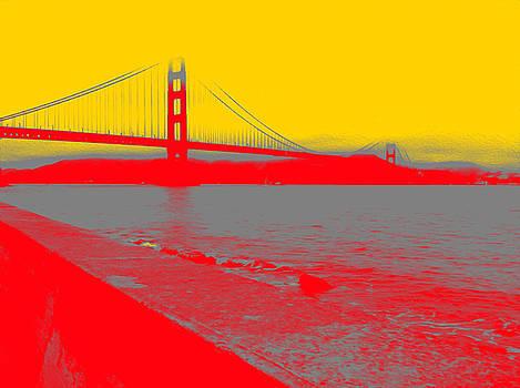 Bill Owen - Golden Gate in Red