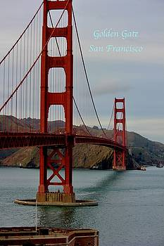 Golden Gate by Lorna Maza
