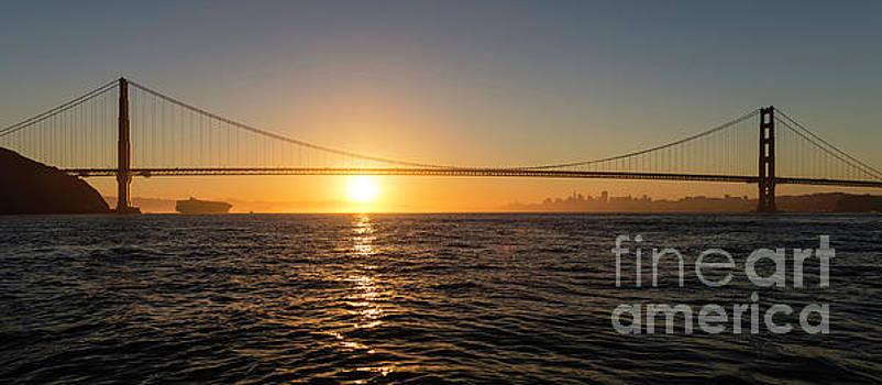 Golden Gate Panorama by Hugh Stickney